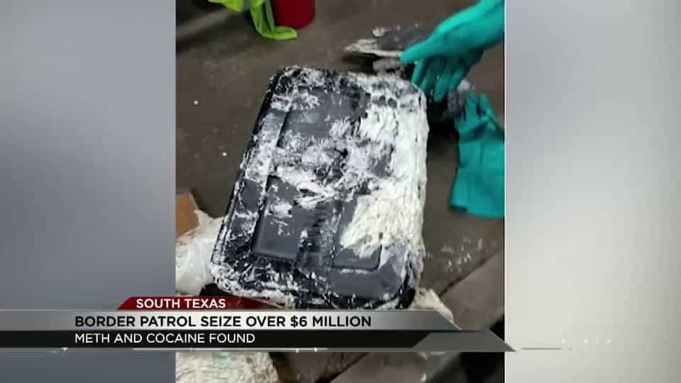 Over $1 million worth of meth and cocaine seized in Brownsville and Kingsville