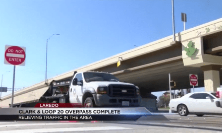 New overpass opened in Laredo to relieve congestion at Clark and Loop 20
