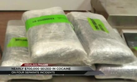Nearly $700,000 worth of cocaine seized at Anzalduas International Bridge