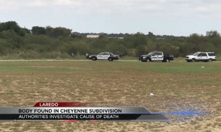 Dead Body Found in Laredo
