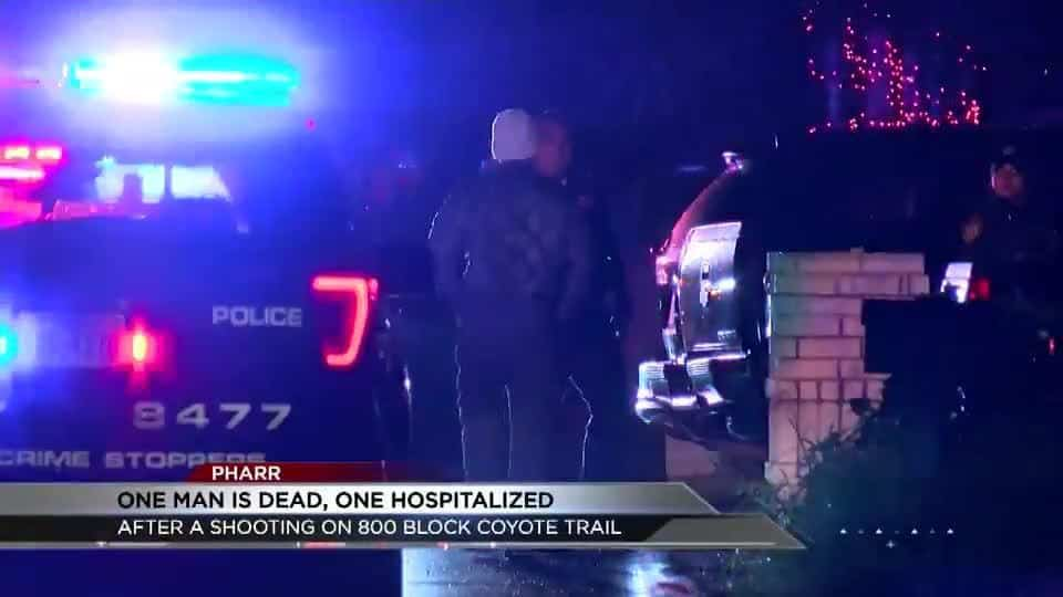 Shooting in Pharr Leaves One Man Dead and One Hospitalized