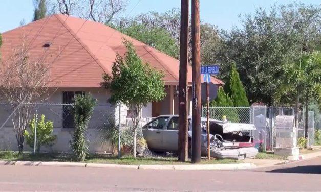 Car Crashes Into Home