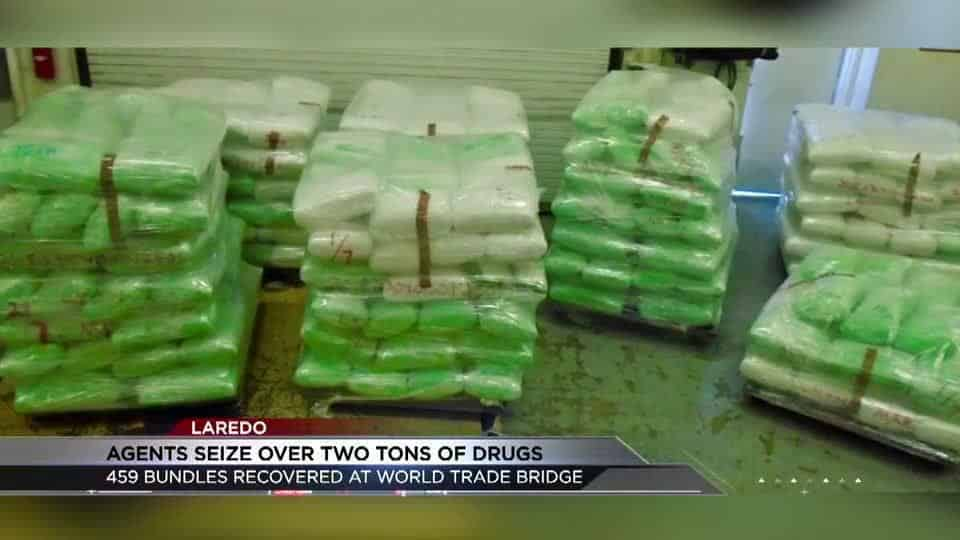 Two and A Half Tons of Marijuana Seized