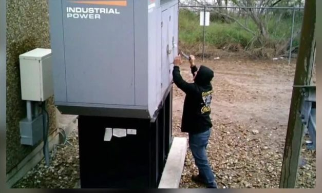 Man Steals Cell Tower Batteries