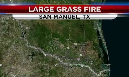 Grass Fire in San Manuel Spreads