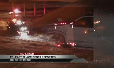 22 Icy Road Accidents Reported