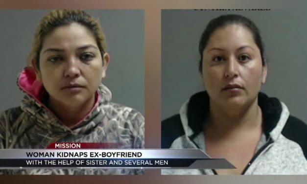 Woman Kidnaps Ex-Boyfriend