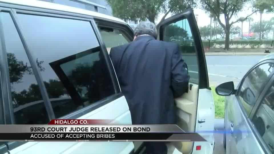 Judge Rudy Delgado Goes Before Judge on Bribery Charges