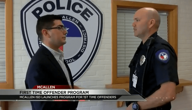 McAllen ISD Implements First Offender Program