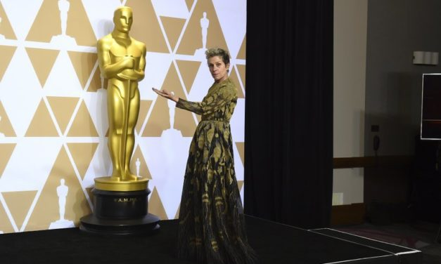 Man arrested after stealing Frances McDormand's Oscar trophy