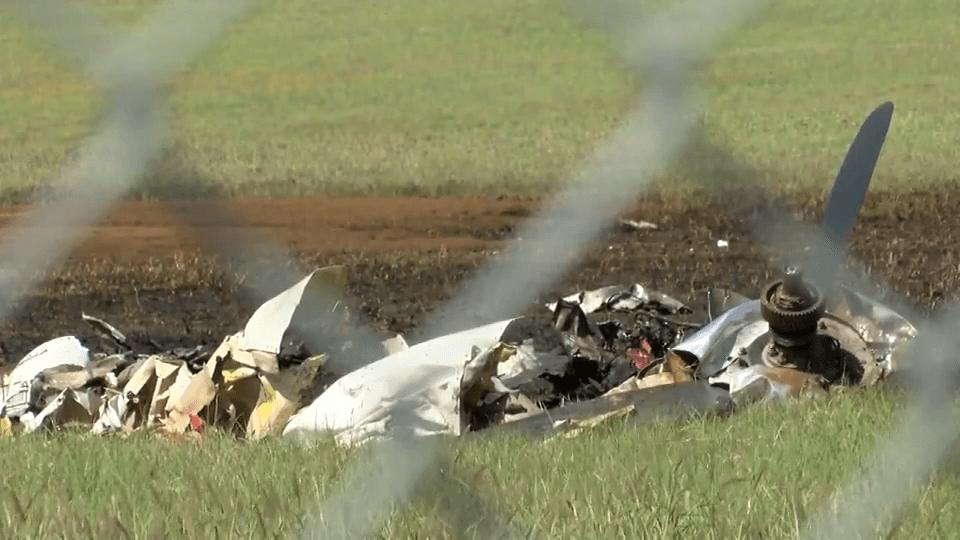 Two Die in Plane Crash
