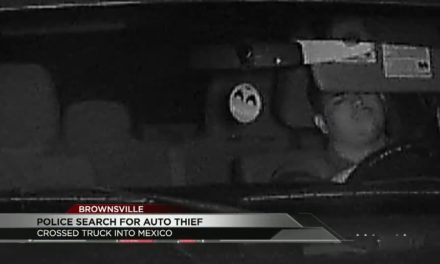 Man Who Stole Truck Caught on Camera
