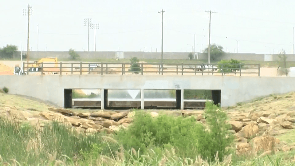 Mines Road Area Bridge Nearly Completed