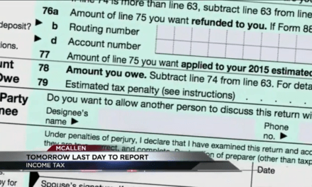 Organization Offers Free Services, Less Than 24 Hours To File Taxes