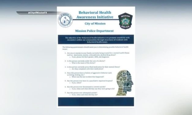 Mission Police Implement Program To Better Assist People With A Mental Illness