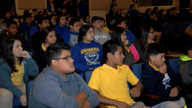 Bruni High School Students Participate In Raven Refinery Debate