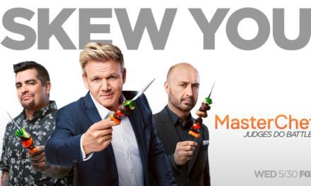 "The Judges Battle It Out On Season Nine Of ""Masterchef"""