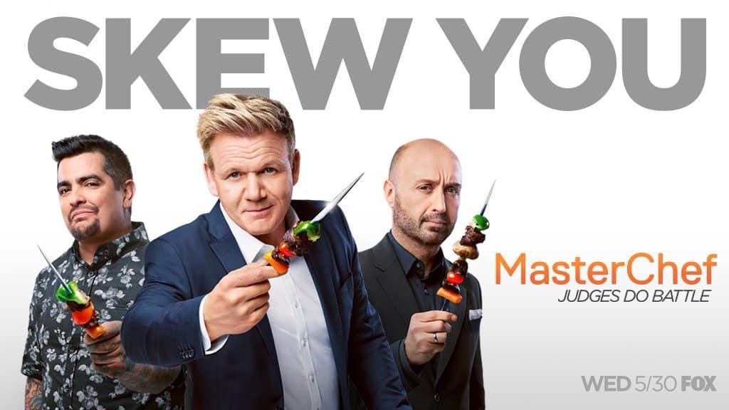 "The Judges Battle It Out On Season Nine Of ""Masterchef"""