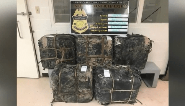 Laredo Agents Seize Narcotics From Abandoned Vehicle
