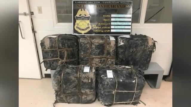 Laredo Agents Seize Narcotics From Abandoned Vehicle