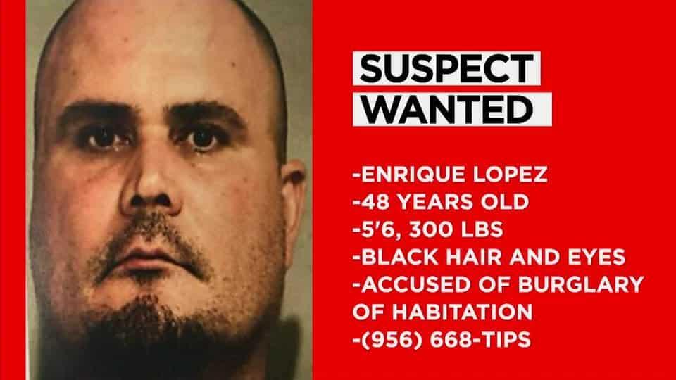 Hidalgo County Suspect Wanted For Burglary Of Habitation