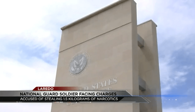 National Guard Soldier Accused Of Stealing Narcotics