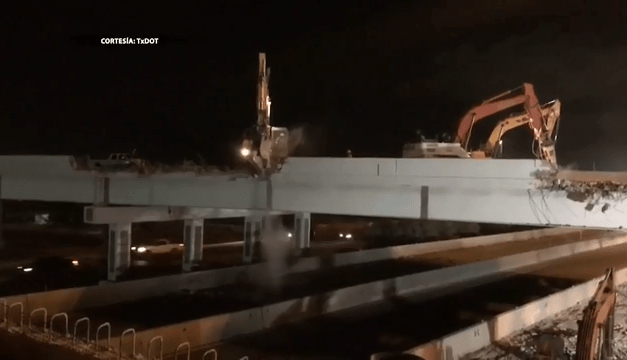 Highway 83 Closure Scheduled For Monday Night demolition of the Bicentennial overpass
