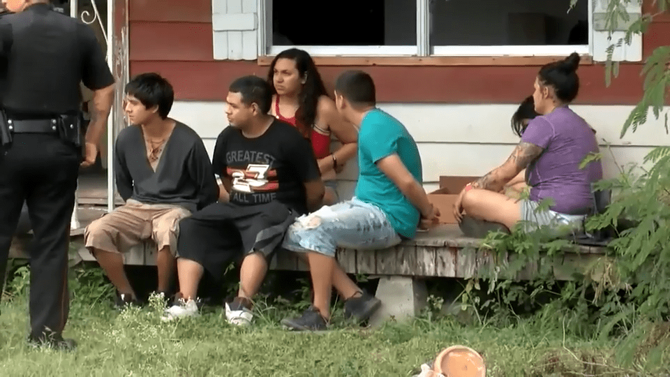 2015 Fugitive Located and Caught in Alamo Drug Raid