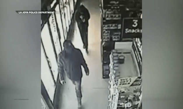 La Joya Police Search For Break-In Suspects