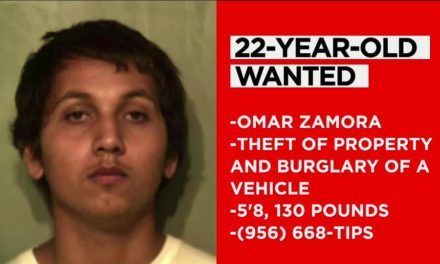 22-Year-Old Wanted For Theft And Burglary In Hidalgo County