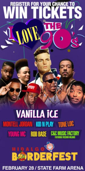 Register for your chance to win tickets to see the I love the 90s Tour