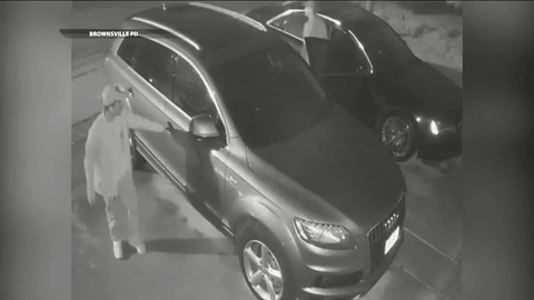 Can You Identify Them? Suspects Wanted For Burglary Of A Vehicle