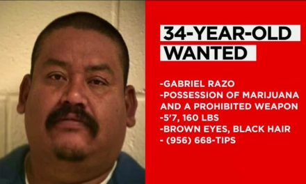 Do you Recognize Him? 34-Year-Old Wanted In Hidalgo County