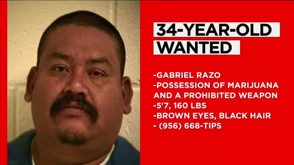 Do you Recognize Him? 34-Year-Old Wanted In Hidalgo County 1