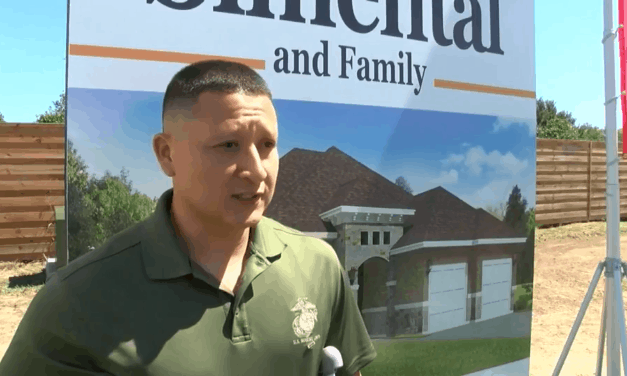 Injured Iraq War Veteran Receives Mortgage-Free Home