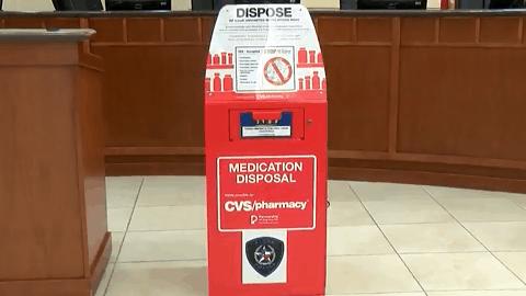 Safer Community; Prescription Medication Drop Box deployed in Alton