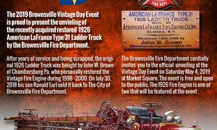 Brownsville Vintage Day & Fire Truck Unveiling