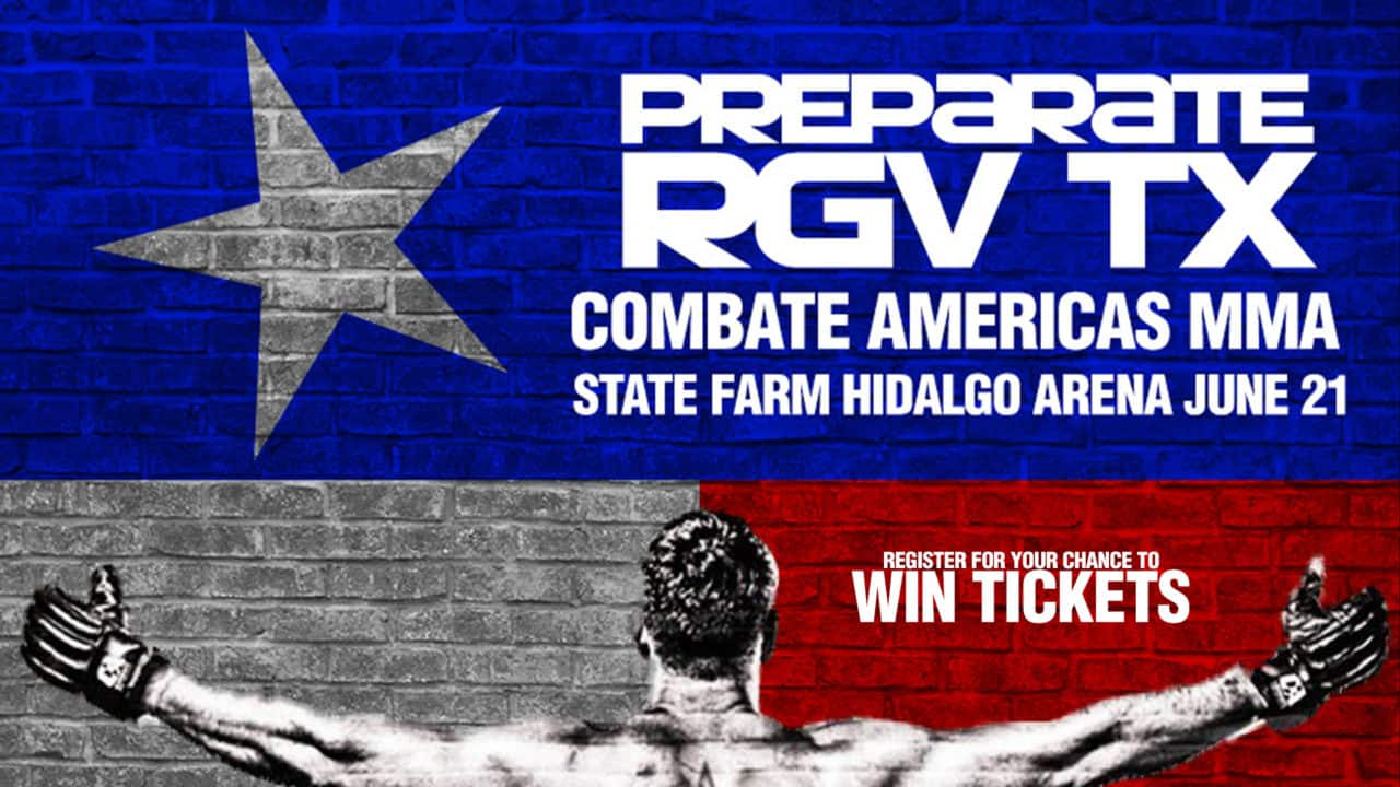 Register for your chance to win tickets to see Combate Americas MMA