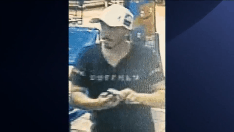 Police Search For Credit Card Abuse Suspect