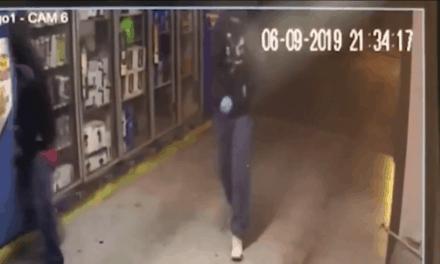 Robbery At Koko Bongo, Caught On Camera