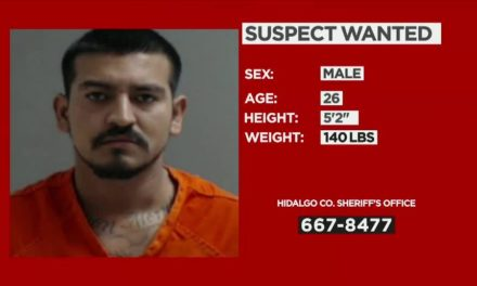 26-Year-Old Wanted For DWI In Hidalgo County