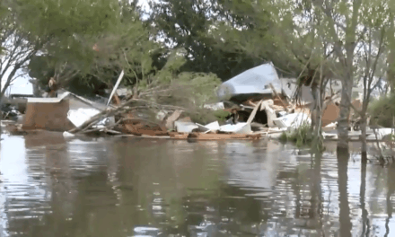 Monte Alto Homes Destroyed Following Thunderstorms