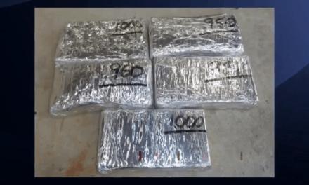 Large Cocaine Seizure At International Bridge