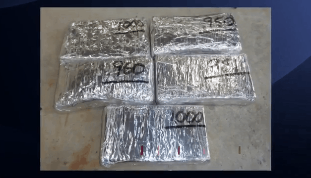 Large Cocaine Seizure At International Bridge