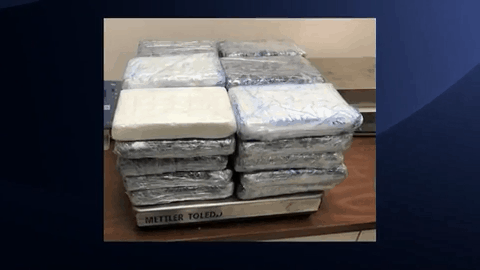 C.B.P. Officials Seize Over Half A Million Dollars in Narcotics