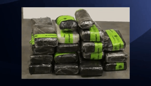 Federal Agents Seize Methamphetamine At Port Of Entry