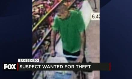 San Benito Suspect Wanted for Theft