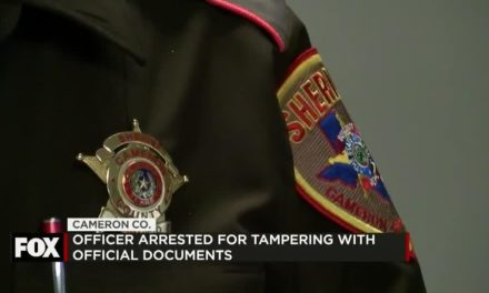Officer Arrested for Tampering with Official Documents