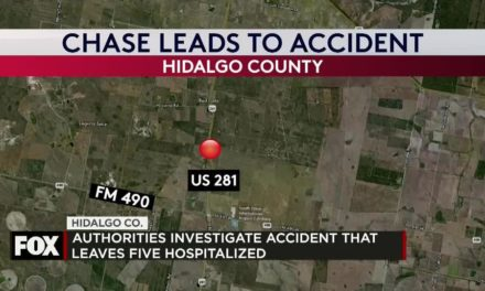 Police Chase Results in Accident that leaves Five Hospitalized