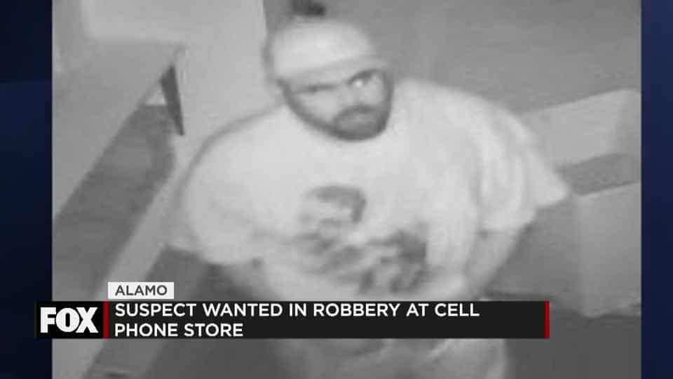 Alamo Robbery Suspect Sought after Stealing Thousands in Cell Phones 1